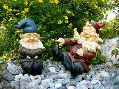 Garden Gnome Brothers Lawn Ornaments
