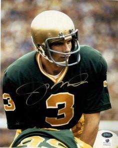Joe Montana autographed Notre Dame Fighting Irish photo! Got this for my husband on Christmas.