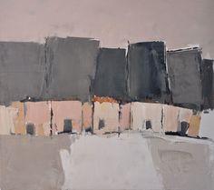 Sandra Pratt(American, b.1978) Pink houses