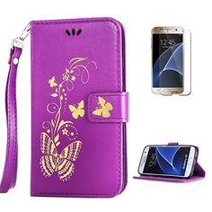 Yrisen 2in 1 Samsung Galaxy S7 Tasche Hülle Wallet Case S…