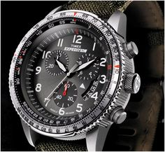 #Timex Expedition Military Chronograph #Expedition #MilitaryWatch #T49823