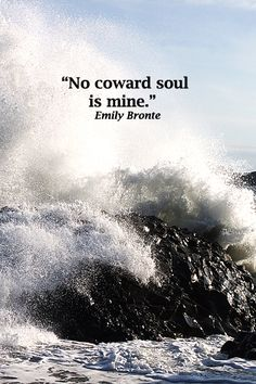 """""""No coward soul is mine.""""  Emily Bronte – On image of surf at DYRHOLAEY, accessible from ICELAND'S SCENIC RING ROAD.  Get travel tips on the natural beauty found when driving Iceland's iconic RING ROAD at http://www.examiner.com/article/iceland-s-ring-road-holds-natural-wonder-and-creative-inspiration"""