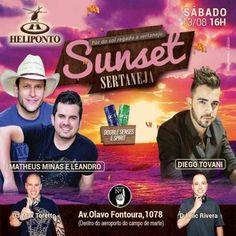 Heliponto Bar   Sábado a tarde com o melhor do Sertanejo Infos e Listas no Site: http://www.baladassp.com.br/balada-sp-evento/Heliponto-Bar/412 Whats: 951674133