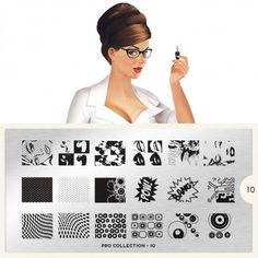 moyou Nail Art design Image Plates-pro collection