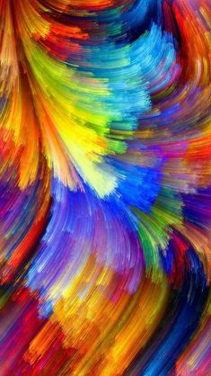 A very pretty painting. Rainbow Wallpaper, Apple Wallpaper, Colorful Wallpaper, Galaxy Wallpaper, Wallpaper Backgrounds, Wallpapers, Cellphone Wallpaper, Iphone Wallpaper, Abstract Watercolor