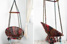 Marrakech Swing Chair via Brit + Co