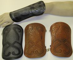 Twilight Princess Link Leather Armor Bracers ($124.99)