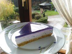 El Rincón de Casa El Caminero (Merás-Asturias): TARTA DE QUESO CON ARÁNDANOS Flan, Cheesecake, Desserts, Gastronomia, Home, Dessert Recipes, Pies, Sweets, Breakfast Bagel