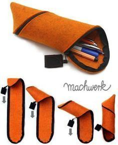 Best 10 Oliver saved to homemadeHow to Stop Living Paycheck to Paycheck in 30 Days Or Less Leather Bags Handmade, Handmade Bags, Leather Craft, Fabric Crafts, Sewing Crafts, Sewing Projects, Wood Crafts, Pencil Bags, Pencil Pouch