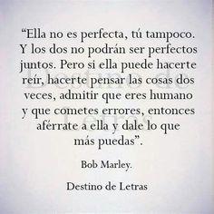 No somos perfectos