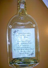 personalized flattened wine bottle platter  sold in Savannah on River Street Market