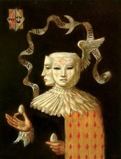 "Jake Baddeley                                            ""Now you see, now you don't""                               Oil on panel, 2006."