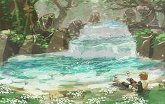 The Legend of Zelda Princess Photo, Princess Art, Water Type Pokemon, Sword Of Destiny, Nerd Crafts, Zelda Twilight Princess, Legend Of Zelda Breath, Breath Of The Wild, Manga