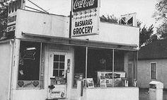 Bashara's Grocery- vintage photo-Bismarck, ND