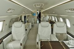 The Lineage offers unrivalled Space for an aircraft in it's class.