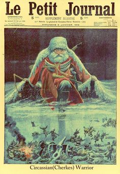 General Winter, front cover illustration from 'Le Petit Journal', supplement illustre, January 1916 (colour litho) World War One, Weird World, Ww1 Posters, Newspaper Design, War Photography, Vintage Classics, In God We Trust, Photo Journal, Illustrations And Posters
