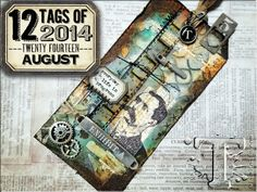12 tags of 2014 – august…TIM TUTORIAL