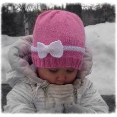 Baby Knitting Patterns, Free Knitting, Knit Crochet, Crochet Hats, Crafts To Do, Fun Projects, Handicraft, Knitted Hats, Winter Hats