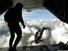 jumping from planes