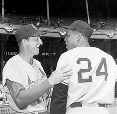 Musial and Mays