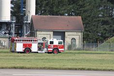 fire engine at RAF Mildenhall