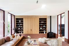 Bona Vista House by Studio Prineas. | Yellowtrace Australian Interior Design, Interior Design Awards, Australian Architecture, Interior Design Inspiration, Interior Architecture, Home Living Room, Living Spaces, Vista House, Casual Family Rooms
