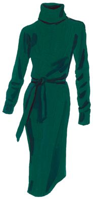 Cortina Turtleneck Dress > Dresses | The J. Peterman Company