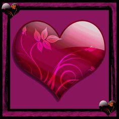 Animated Gif by JoanBlalock Gif Animé, Animated Gif, Gifs, Coeur Gif, Glitter Gif, Je T'adore, Glitter Graphics, Love Heart, Valentines Day