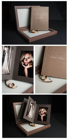 Wedding Booklet, Photo Album Covers, Photo Packages, Family Album, Album Design, Book Crafts, Projects To Try, Wedding Albums, Photo Books