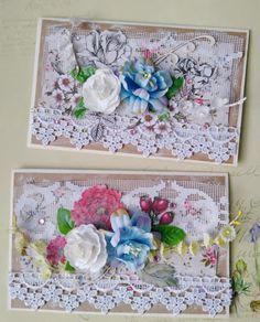 СкрапОльки: Две цветочные сестрички