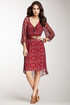 Aura Silk Dress