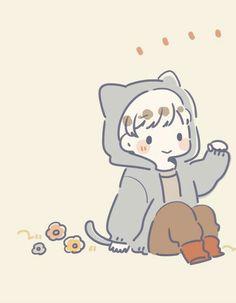 Chibi Couple, Cute Couple Cartoon, Anime Love Couple, Cute Anime Couples, Kawaii Doodles, Kawaii Art, Anime Chibi, Kawaii Drawings, Cute Drawings