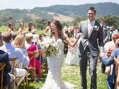 27 Photos To Obsess Over From The Knot Dream Wedding at Chateau St. Jean! | Photo by: Jasmine Star Photography | TheKnot.com