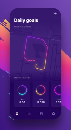 Modern Mobile App UI Design with Amazing UX - 8 Mobile Ui Design, Ui Ux Design, Interface Design, Application Ui Design, Design Responsive, Game Ui Design, Icon Design, Graphic Design, Chart Design