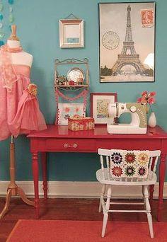 Diseños para cuartos de costura : cosascositasycosotasconmesh