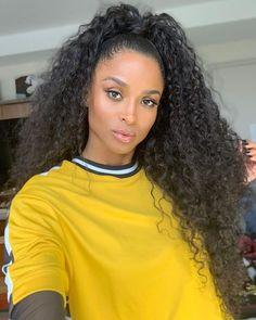 Ciara debuts blonde look after chopping hair into a stylish pixie cut Long Curly Hair, Curly Hair Styles, Natural Hair Styles, Goddess Locs, Ponytail Hairstyles, Pretty Hairstyles, Ciara Style, Black Hair Inspiration, Ciara Hair