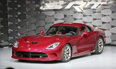 Looks like it would be fun to drive! 2013 SRT Viper