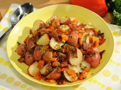 Sunny's Warm German Potato Salad Recipe : Sunny Anderson : Food Network - FoodNetwork.com