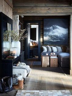 Идеальное место чтобы провести зимние праздники: деревянный коттедж в Норвегии | Пуфик - блог о дизайне интерьера