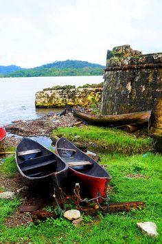 Portobelo ruins in Panama