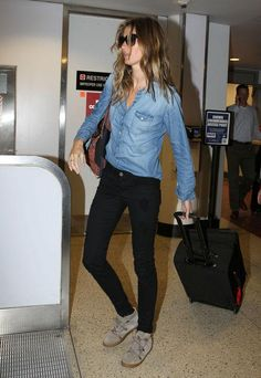 Gisele and more celebs show us how to rock denim on denim - see all the outfits by clicking