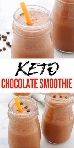 Low carb smoothie loved by all - easy keto recipes - keto smoothie chocolate shake that is quick & simple. Healthy smoothie fat bomb for breakfast, snack or des Low Carb Smoothies, Keto Smoothie Recipes, Smoothie Ingredients, Shake Recipes, Keto Recipes, Keto Breakfast Smoothie, Low Carb Breakfast, Breakfast Recipes, Avocado Breakfast