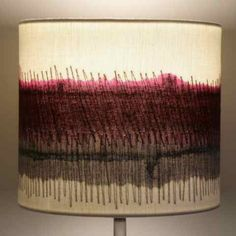 Handmade Lampshades by Dionne Swift LINK DOES NOT LEAD TO THIS LAMPSHADE, KEEPING FOR INSPIRATION ONLY