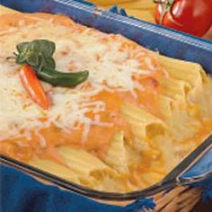 Mexican+Chicken+Manicotti+Recipe+@keyingredient+#cheese+#chicken+#cheddar+#soup+#italian