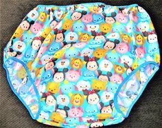 "Mommy Red's ""Tsum Tsum"" adult size diaper cover baby design 