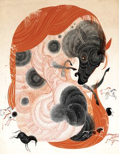 Victo Ngai illustration in Illustration - general Art And Illustration, Illustration Design Graphique, American Illustration, Illustrations And Posters, Ouvrages D'art, Colossal Art, Art Inspo, Concept Art, Street Art