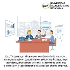 Estudia #GerenciadeNegocios en #UTH #Honduras