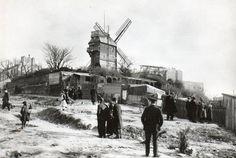 Le Moulin de la Galette. Καρτ-ποστάλ Delcampe.