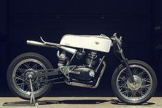 Simplistic Beauty - Ducati 350 cafe racer