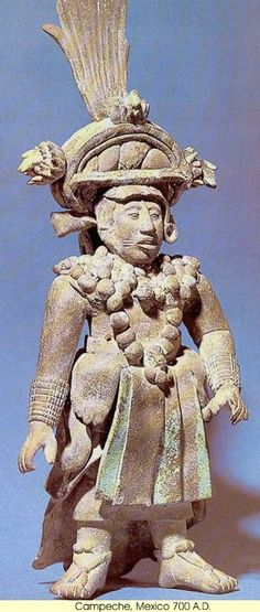 Ancient Mexico - Assorted People and Places: Pictures